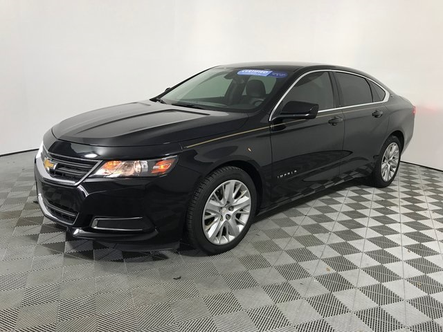 Certified Pre-Owned 2017 Chevrolet Impala LS FWD 4D Sedan