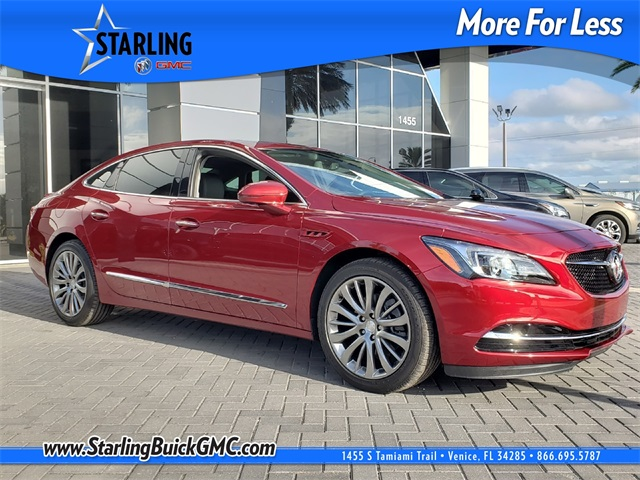 New 2019 Buick Lacrosse Sport Touring 4d Sedan In Venice Ku109595