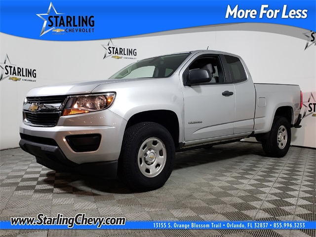 Pre-Owned 2017 Chevrolet Colorado Work Truck RWD 4D Crew Cab