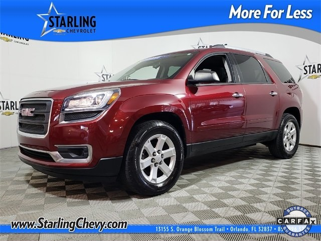 Certified Pre-Owned 2015 GMC Acadia SLE-1