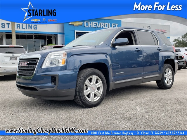 Certified Pre Owned 2016 Gmc Terrain Sle 1 4d Sport Utility In