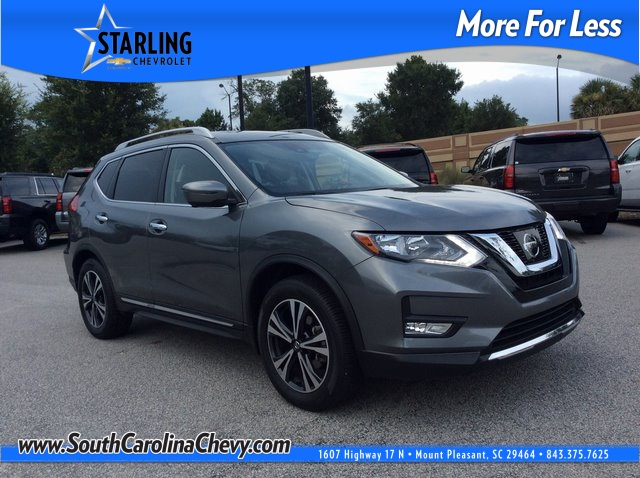 Pre-Owned 2017 Nissan Rogue SL FWD 4D Sport Utility