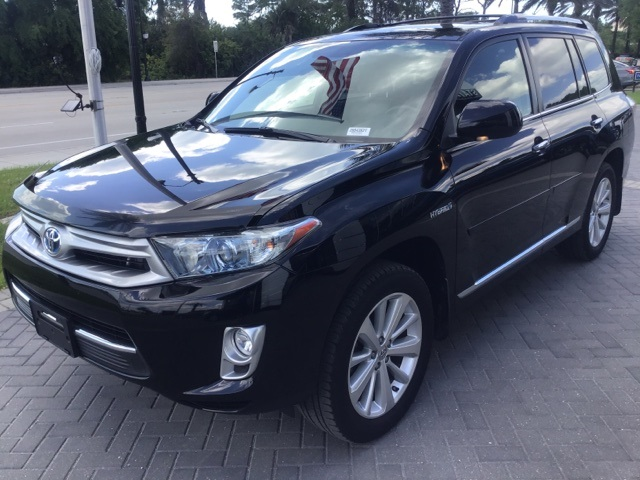 Pre-Owned 2012 Toyota Highlander Hybrid Limited