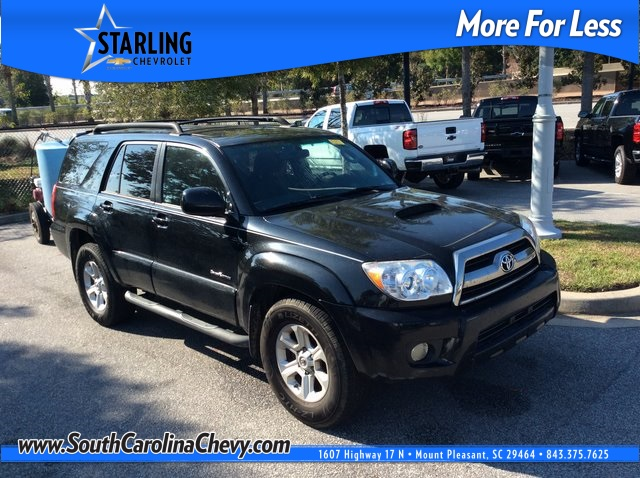 Pre-Owned 2007 Toyota 4Runner SR5 RWD 4D Sport Utility