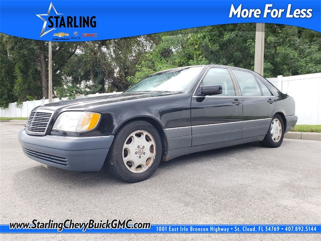 Pre-Owned 1996 Mercedes-Benz S-Class S 500