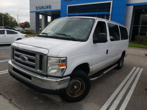 Pre-Owned 2009 Ford E-350SD XLT