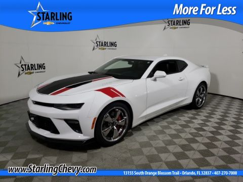 Certified Pre-Owned 2016 Chevrolet Camaro SS