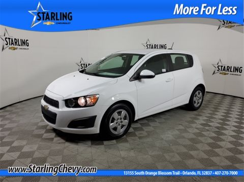 Certified Pre-Owned 2016 Chevrolet Sonic LS