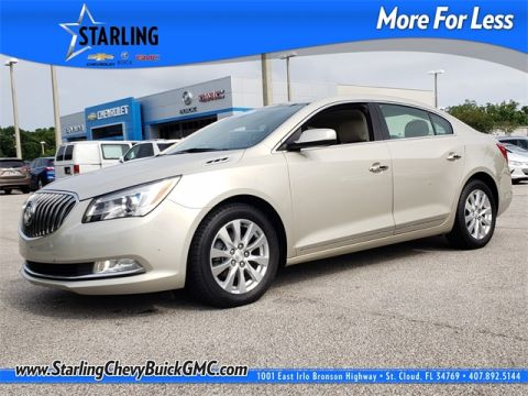 Certified Pre-Owned 2015 Buick LaCrosse Base