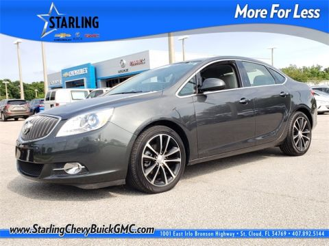 Certified Pre-Owned 2017 Buick Verano Sport Touring