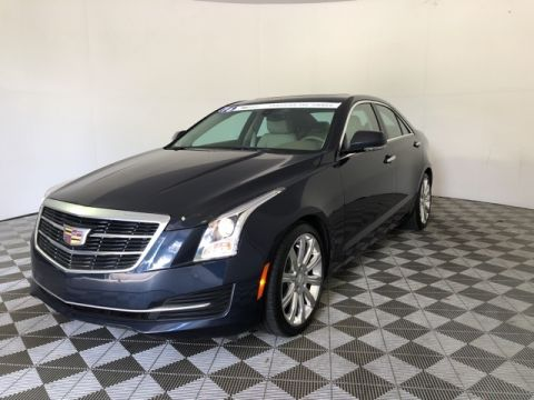 Certified Pre-Owned 2016 Cadillac ATS 2.0L Turbo Luxury