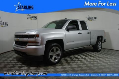 Certified Pre-Owned 2018 Chevrolet Silverado 1500 Custom