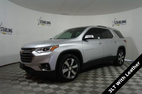 Certified Pre-Owned 2018 Chevrolet Traverse 3LT