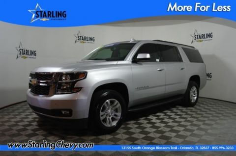 Certified Pre-Owned 2018 Chevrolet Suburban LT