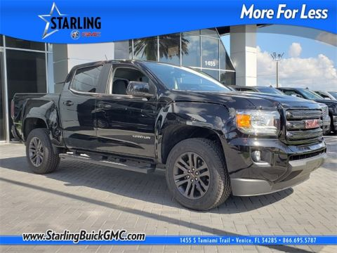 New 2018 GMC Canyon SLE1