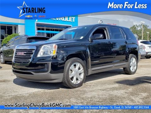 Certified Pre-Owned 2017 GMC Terrain SLE-1