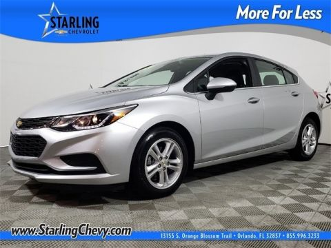 Certified Pre-Owned 2018 Chevrolet Cruze LT