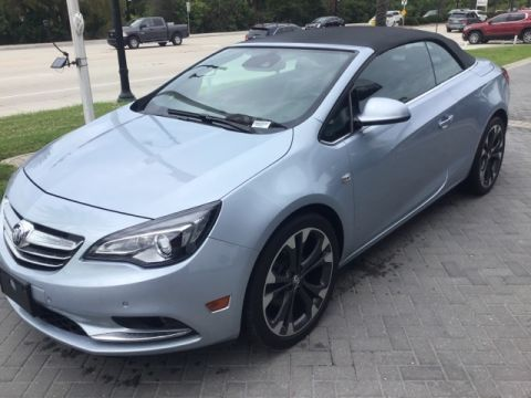Certified Pre-Owned 2017 Buick Cascada Premium
